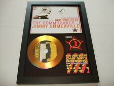 THE COMMUNARDS   SIGNED  GOLD CD  DISC   70