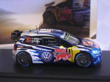 VW VOLKSWAGEN POLO WRC  - 3° AU RALLYE MONTE CARLO 2015 A. MIKKELSEN 1:43 SPARK