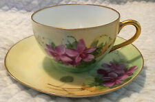 limoges france tea cup cup and Saucer
