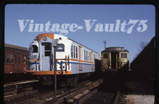 Original Slide Subway Septa Ptc Philadelphia Kodachrome 1975 Fern Rock
