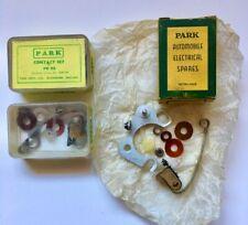 Park Bros. Contact Set PB 98. (420196) TR2, Austin Healey 100-4, others. (ssc-2)