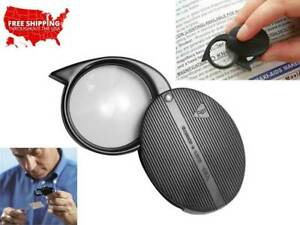 Bausch & Lomb Pocket 4X Magnifier, Quality Optical Lens, Loupe Folding into Case