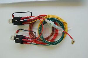 New Headlight Headlamp Wiring Harness Triumph TR3 TR4 TR6 Spitfire Relay Kit
