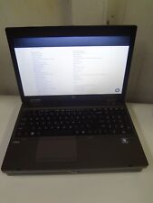 "HP ProBook 15.6"" 6565b AMD A8-3510MX 1.80GHz 4GB 120GB Laptop  ""NO BATTERY"""