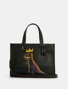NWT Coach X Jean-Michel Basquiat Dempsey Carryall TOTE/ tote 40 Large In Signat