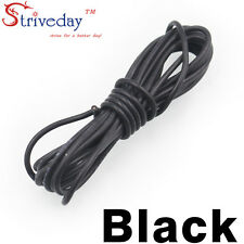 1 meters Black 30AWG Flexible Silicone Wire Outer Diameter 1.2mm DIY Cable line