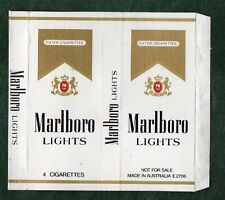 Old EMPTY cigarette packet complimentary gift pack Marlboro style 5. #518