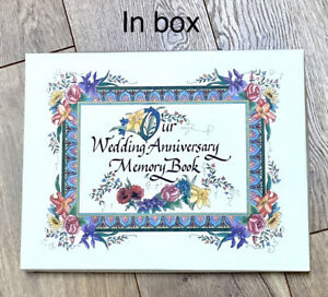 Our Wedding Anniversary Memory Book NEW IN BOX