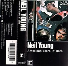 NEIL YOUNG American Stars 'n' Bars 1993 CASSETTE REPRISE RECORDS NM/NM
