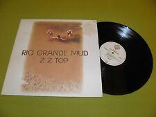 "ZZ Top - Rio Grande Mud - RARE Original 1980 Germany IMPORT ""WB 56 602"" LP NM"