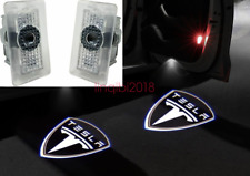2x LED Door Light Logo for Tesla Projector Courtesy Welcome Tesla Model 3 X S