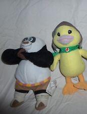"""Kung Fu Panda Po  Duck Ming Ming Plush Soft Toy Stuffed Animal 8"""""""