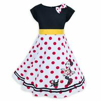 Disney Minnie Mouse and Figaro Dress for Girls
