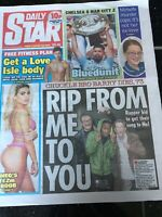 Barry Chuckle Obituary Front Page  Newspaper Chuckle Bros Daily Star 06/08/2018