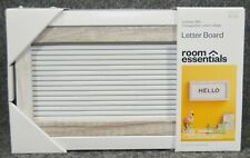 Room Essentials Letter Board With Changeable Letters (10