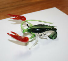 Art Blown Glass Murano Figurine Glass Lobster Figurine #1