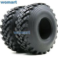 2Stk RC 2.2'' Truck Crawler Tires Reifen 129mm Fit 2.2'' Beadlock wheels Felgen