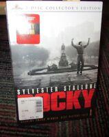 ROCKY - COLLECTOR'S EDITION 2-DISC DVD MOVIE, SYLVESTER STALLONE, TALIA SHIRE