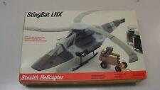 NEW STINGBAT LHX MILITARY STEALTH HELICOPTER TESTORS ITALERI 1/48 SCALE MODEL