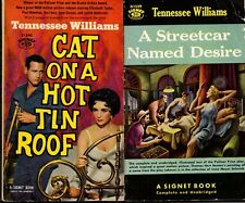 Lot of 2 PB Tennessee Williams A Streetcar Named Desire Cat on a Hot Tin Roof