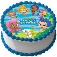 Bubble Guppies Eßbar Tortenaufleger NEU Party Deko Geburtstag dvd Tortenbild