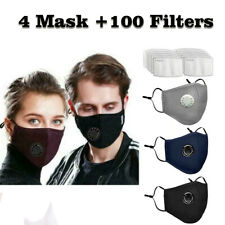 Breathable Washable Cycling Mask Face Fliter Respirator Anti Air Pollution