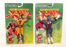 2 MIB Vintage 1991 Uncanny X-Men NIGHTCRAWLER & WOLVERINE Bend-Ems MARVEL COMICS