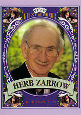 Original Herb Zarrow Commemorative FFFF Postcard