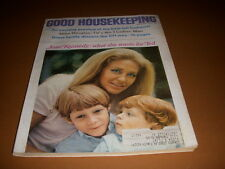 Good Housekeeping Magazine, September, 1969, Joan & Ted Kennedy, Mike Douglas!