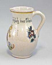 Ceramica Piccolo Brocca Per Vino Karlsruhe 99845207