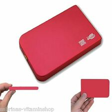 320GB External USB 2.0 External Hard Drive Storage For Playstation PS3 Slim Red