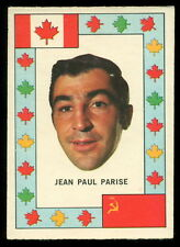 1972 73 OPC O PEE CHEE TEAM CANADA JEAN PAUL PARISE EXNM VS RUSSIA HOCKEY SERIES
