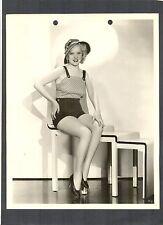 VERY SEXY ALICE FAYE CHEESECAKE - LEGS - N MINT 1934 FILM DEBUT - KEY BOOK CHSK