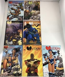 SET OF 7 NINE RINGS OF WU-TANG PREVIEW, #1-5  + TOWER  RECORD #1 VARIANT IMAGE