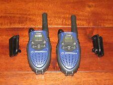 Motorola T5410 Talkabout 2 Way Radio 2-Mile Range Set