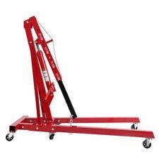 05 2 Ton Red Color 4400 Lb Engine Motor Hoist Cherry Picker Shop Crane Lift