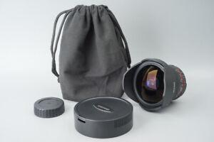 Samyang 8mm f/3.5 F3.5 UMC Fish Eye Fisheye CS II  Lens, For Nikon F Mount