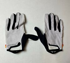 Specialized 74 Long Finger Gloves Medium White Leather