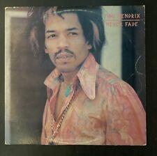 Jimi Hendrix - Never Fade 2lp 1979 Australian Import Live Phoenix Records RARE