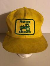 Frontier Machinery Vintage Trucker Hat Tractor Farm John Deere Distributor