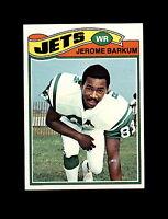 1977 Topps Football #254 Jerome Barkum (Jets) NM-MT
