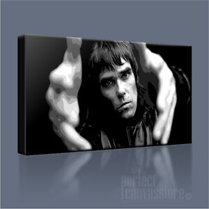 IAN BROWN STONE ROSES ICONIC CANVAS POP ART (UPGRADED to 120x56cm) Art Williams