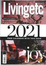 Living Etc Magazine December 2020 With 2021 Calendar