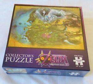 LEGEND OF ZELDA MAJORA'S MASK 3D Sealed Collectors NEW Jigsaw Puzzle 550 Piece W
