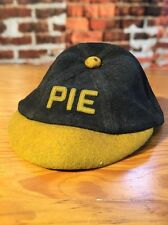 Fraternity Pledge Hat Vintage With Names On Leather Band PIE