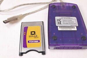 LEXAR MEDIA CARD READER& WRITER GS UFD-20SA-TP PC ADAPTER