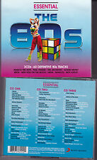 COFFRET 3 CD 80's LAUPER/TOTO/DEAD OR ALIVE/EUROPE/MEAT LOAF/TAYLOR DAYNE/COOPER
