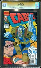 Cable 3 Cgc 9.8 Ss-Auto/ Tom Palmer-1St App Weasel-Deadpool Buddy