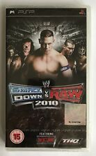 PSP Smackdown vs Raw 2010, UK Pal, Brand New & Sony Factory Sealed, Dented
