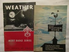 Weather - Merit Badge Series - Boy Scouts, 1943